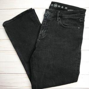 Earnest Sewn x Avec Les Filles Black Crop Jean 29